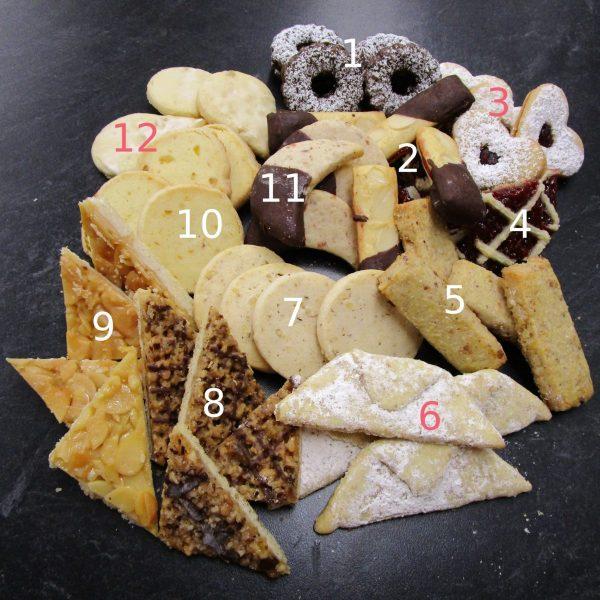 48 assorted cookies
