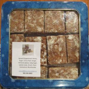 Basler Läckerli (Spiced Gingerbread) in Tin Box