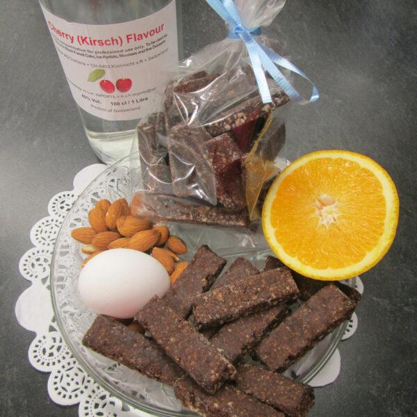 Orangen-Brunsli with main ingredients