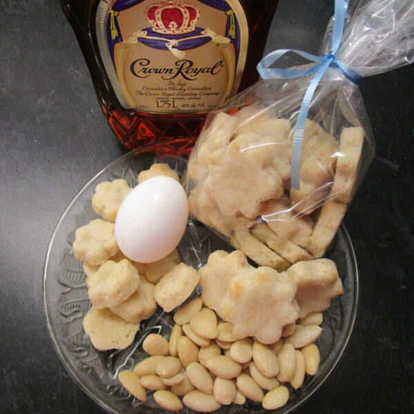 Weisse Brunsli (White Brunsli) with main ingredients